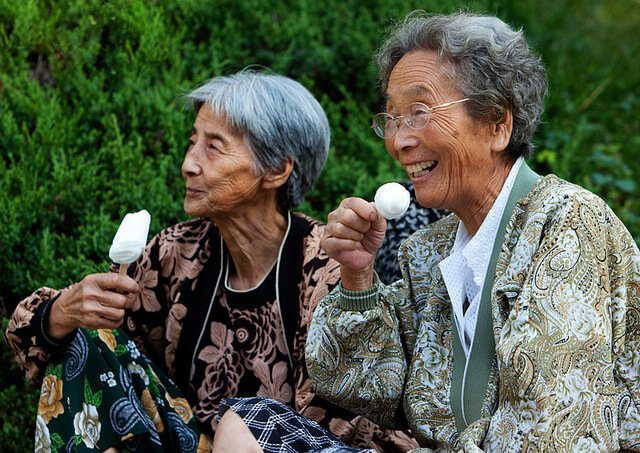 как стареют азиатки