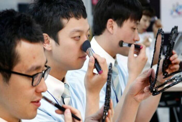 корейская косметика для мужчин
